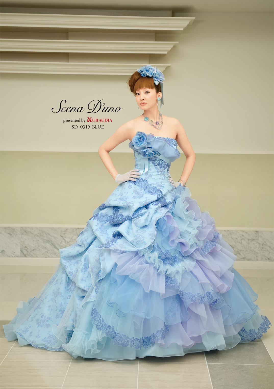 「Scena D'uno」ブルーローズが幸せを呼ぶ人気のドレス